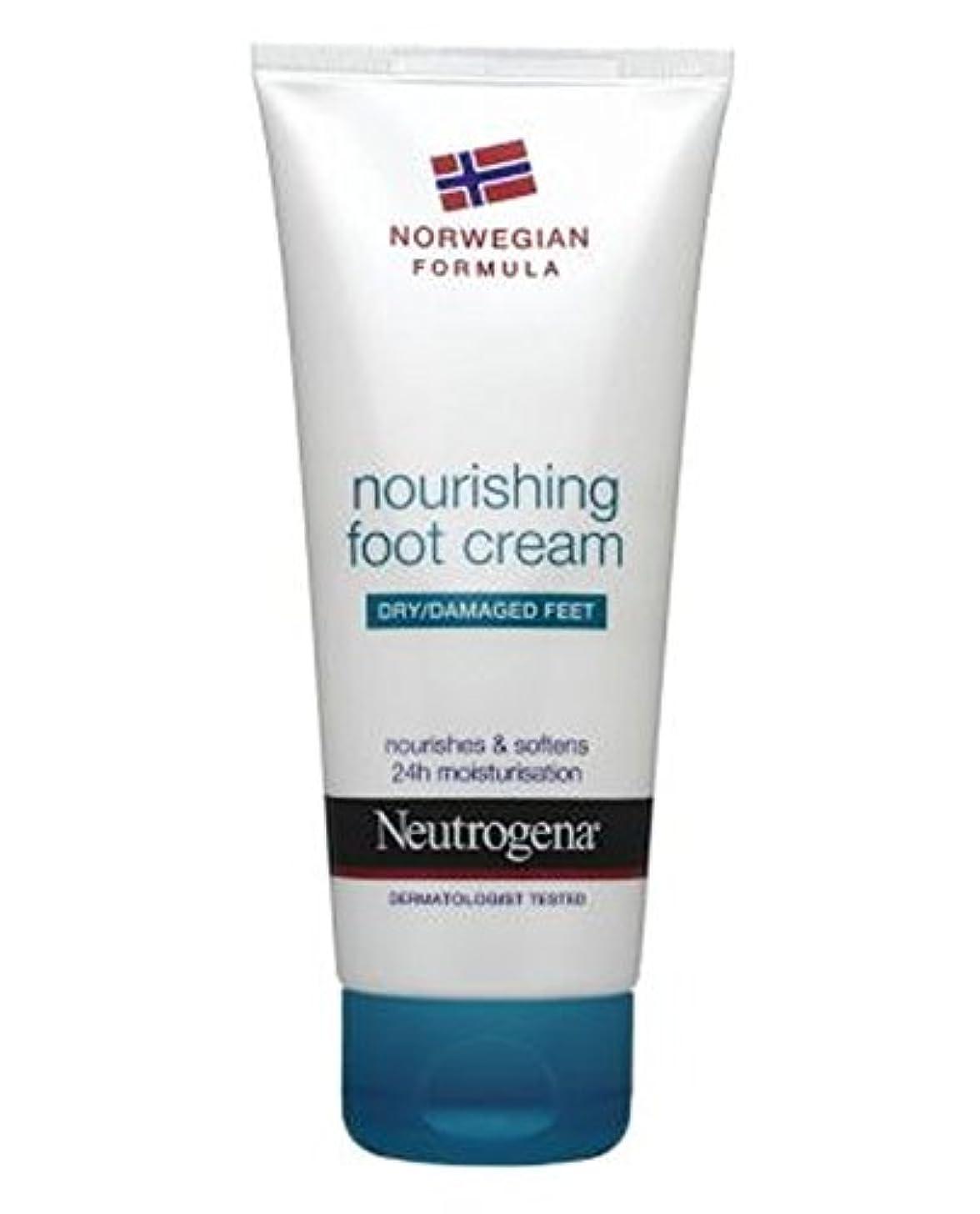 オーラル工業化する自宅でNeutrogena Norwegian Formula Nourishing Foot Cream For Dry Or Damaged Feet 100ml - 100ミリリットル乾燥または損傷した足のためのニュートロジーナノルウェー...