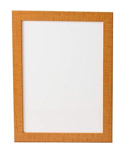 ホワイトボード 木製 (ナチュラル木目, 450x600mm)