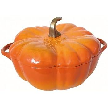 ストウブ (staub) パンプキン ココット 24cm オレンジ 1112492 [ホーム&キッチン]
