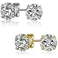 MESTIGE Classic Earring Stud Pack with Crystals from Swarovski®, Gift