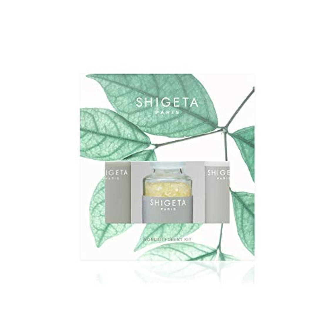 噴水マラウイ寝るSHIGETA(シゲタ) Wonder Forest Kit ボディクリーム ヒノキ セット 50ml×2 + 50g