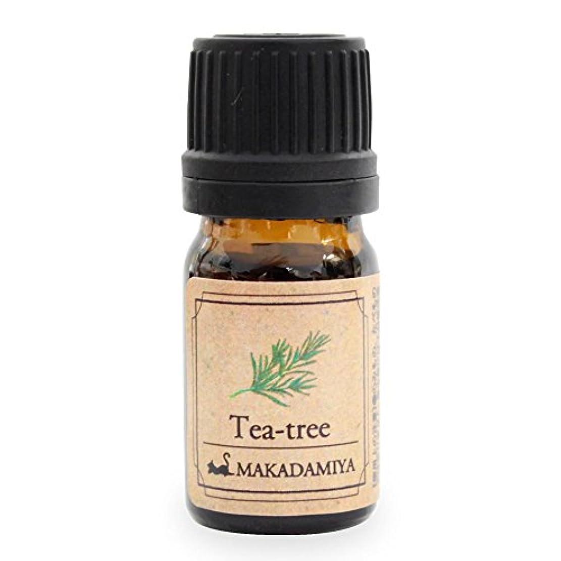 写真を描くトレース苗ティーツリー5ml 天然100%植物性 エッセンシャルオイル(精油) アロマオイル アロママッサージ aroma Tea-tree