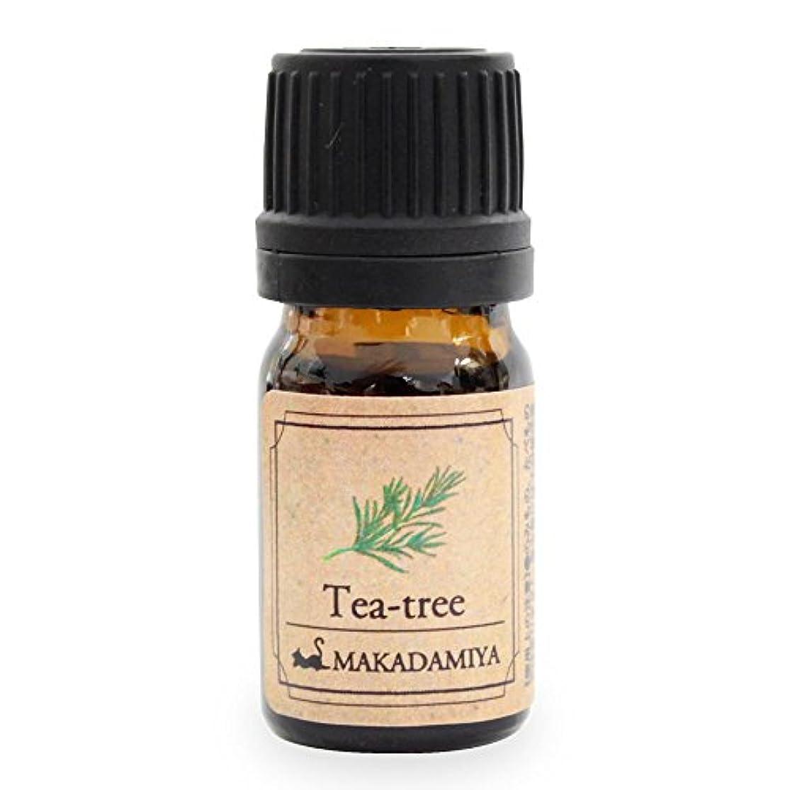 インセンティブ追加するアンプティーツリー5ml 天然100%植物性 エッセンシャルオイル(精油) アロマオイル アロママッサージ aroma Tea-tree
