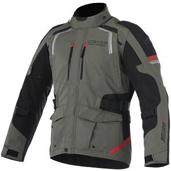 alpinestars(アルパインスターズ) バイクジャケット ミリタリーグリーン/ブラック/レッド (サイズ:L) アンデス ドライスタージャケット7517 1693640203