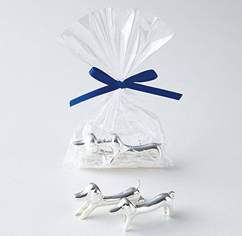 ダックスの箸置き【プチギフト 結婚式二次会 箸置き】