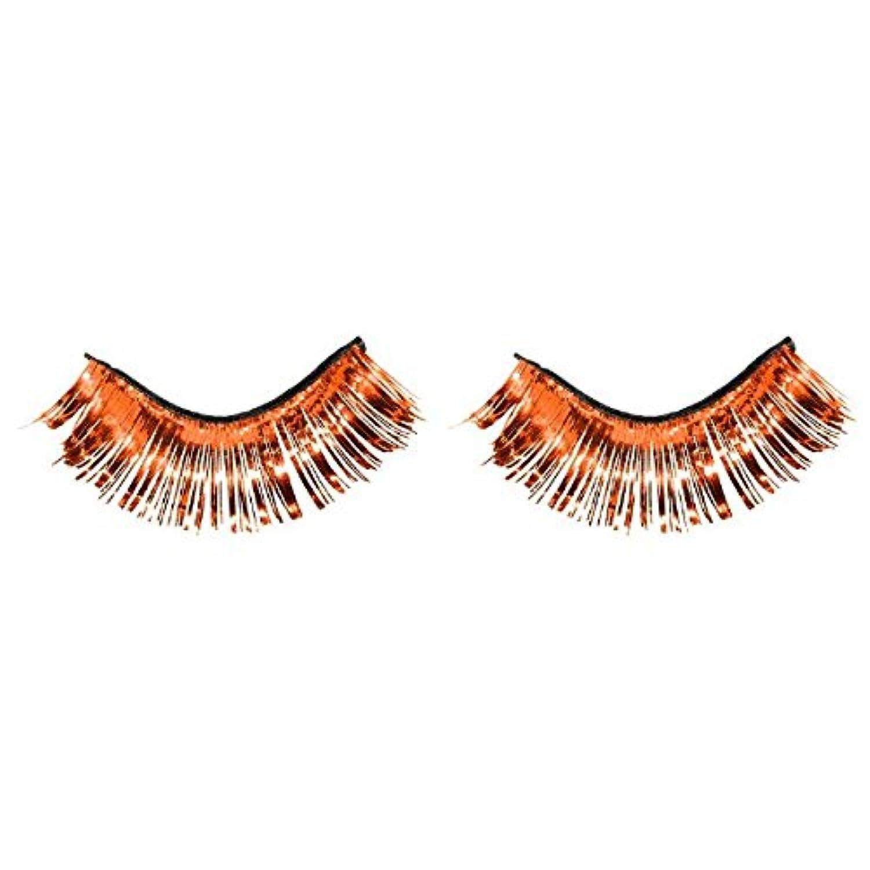 [Amscan]Amscan Party Ready Team Spirit Tinsel Eyelashes , Orange, 5.5 x 5.3 397281.05 [並行輸入品]