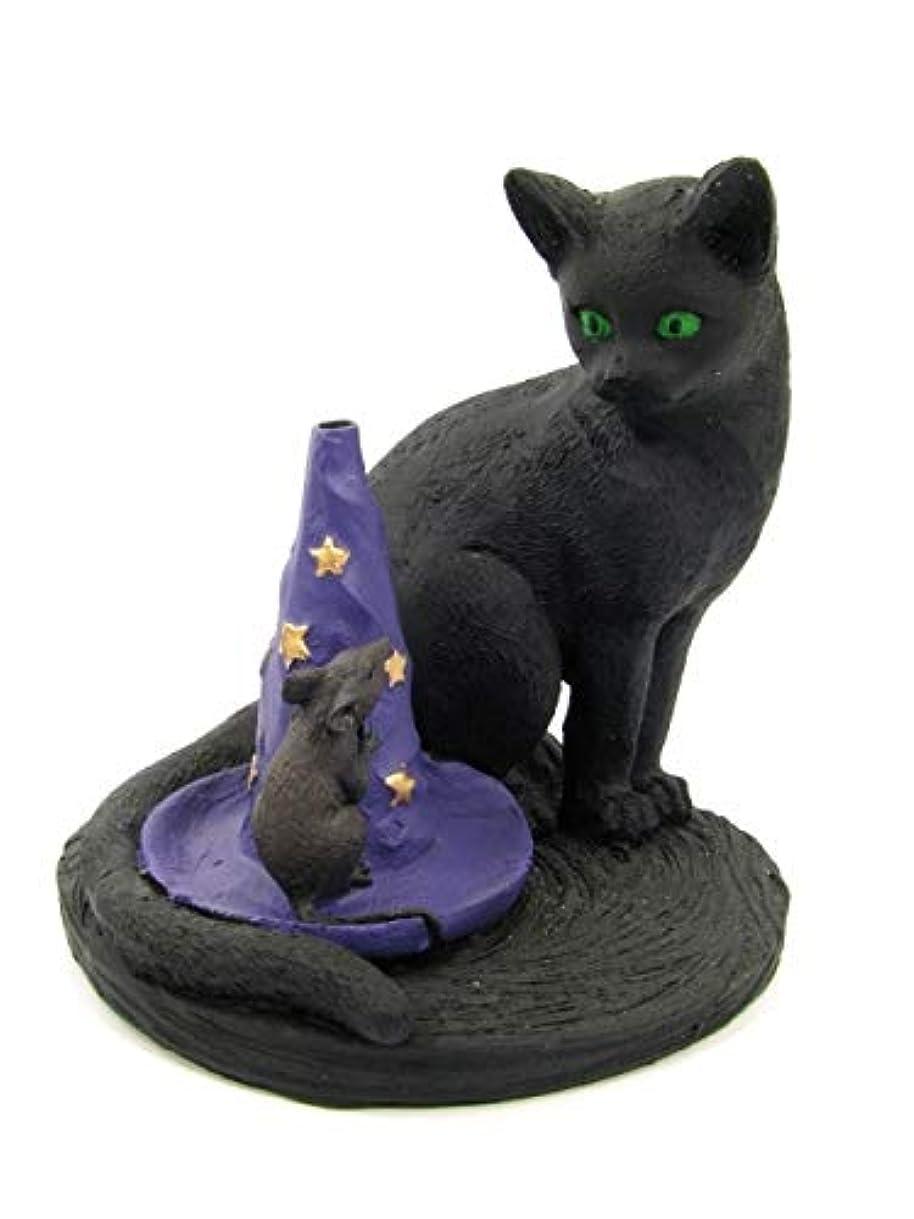 返還エスニック因子[INCENSE GOODS(インセンスグッズ)] MAGICAL CAT & MOUSE INCENSE BURNER
