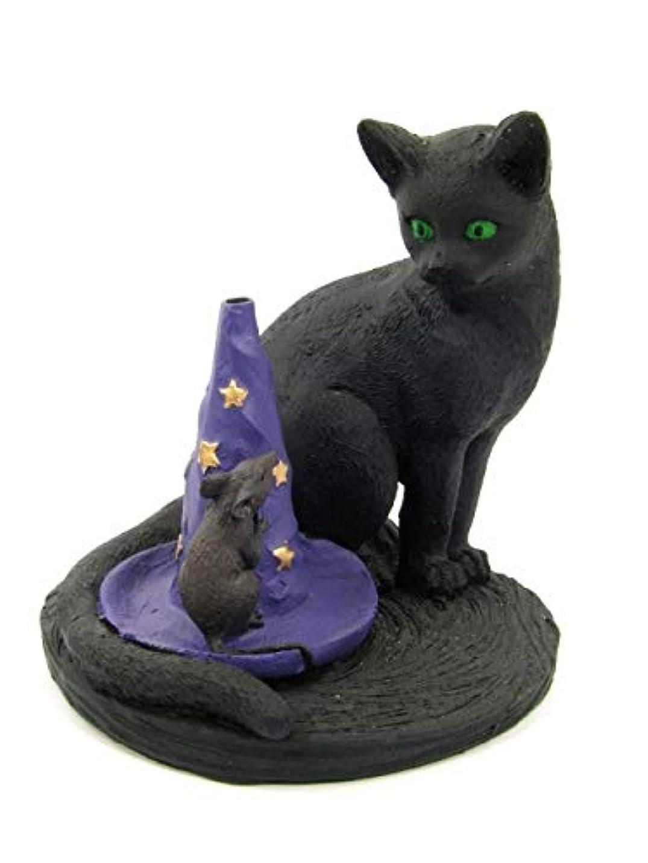 彫刻家周辺うまれた[INCENSE GOODS(インセンスグッズ)] MAGICAL CAT & MOUSE INCENSE BURNER