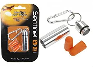 Silencer Ear Plugs with Cash Stash Carryケースとカラビナby Thermal Mule
