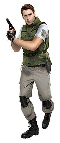 バイオハザード 公式コスチューム クリス メンズ ~180cm