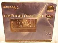 arcadefx GeForce 8400GS 256MB ddr3PCIe DVI / VGAビデオカードW / TV出力