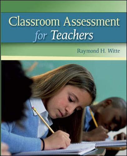 Download Classroom Assessment for Teachers 0073378704