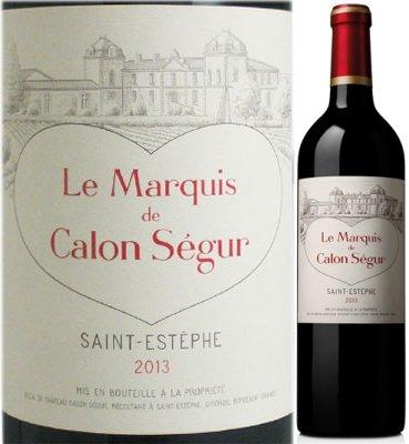 ル・マルキ・ド・カロン・セギュール 2013 赤ワイン 750...