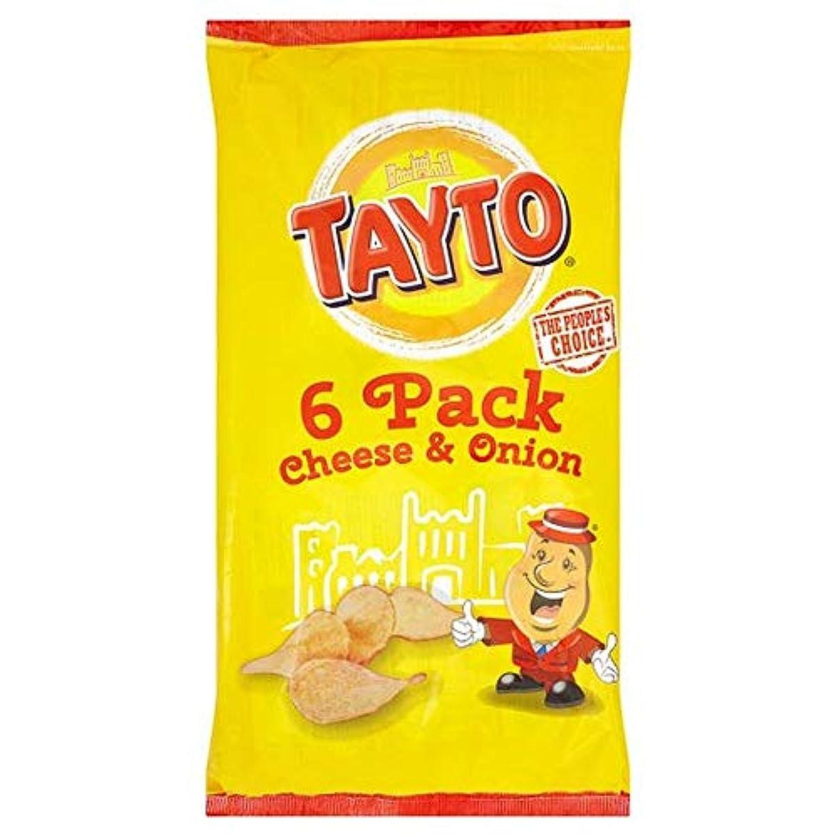 芽一般メガロポリス[Tayto] Taytoチーズとオニオンポテトチップス6S 150グラム - Tayto Cheese And Onion Potato Crisps 6S 150G [並行輸入品]