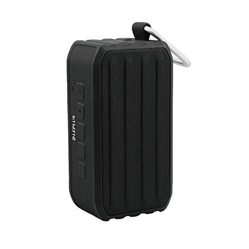 LEPLUS MSソリューションズ LP-SPBT04BK ワイヤレス 防滴スピーカー「TANK ROVER」 ブラック