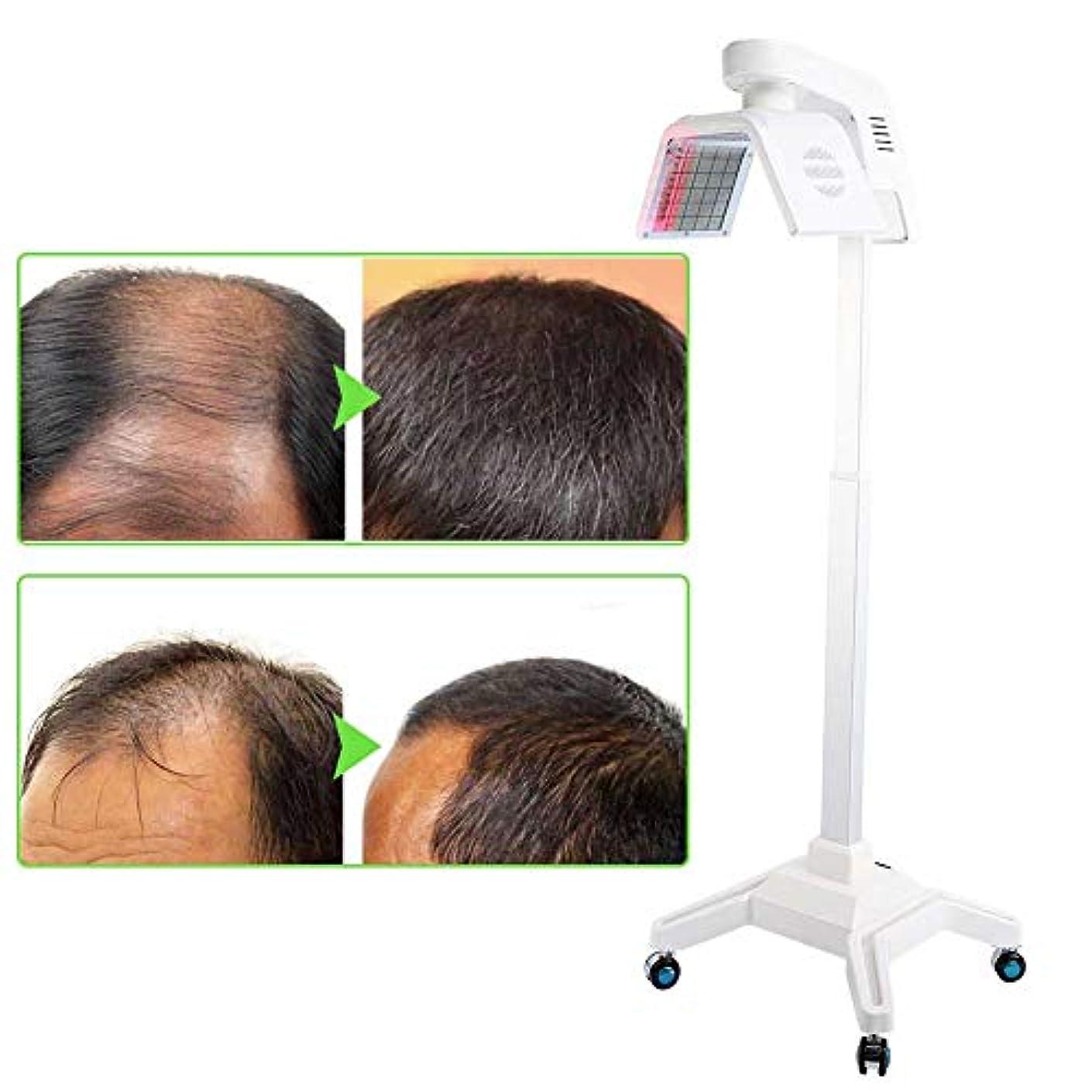 ダーベビルのテスマウス高音育毛システム650NMは、薄毛の男性と女性のための髪の再成長マシンヘアケアデバイスを刺激します。