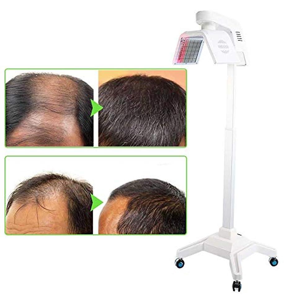 有効化嵐が丘確認育毛システム650NMは、薄毛の男性と女性のための髪の再成長マシンヘアケアデバイスを刺激します。