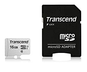 Transcend マイクロSDカード 16GB UHS-I Class10 Nintendo Switch/3DS 動作確認済 TS16GUSD300S-AE【Amazon.co.jp限定】