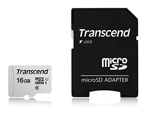 Transcend マイクロSDカード 16GB UHS-I Class10 Nintendo Switch 3DS 動作確認済 TS16GUSD300S-AE【Amazon.co.jp限定】