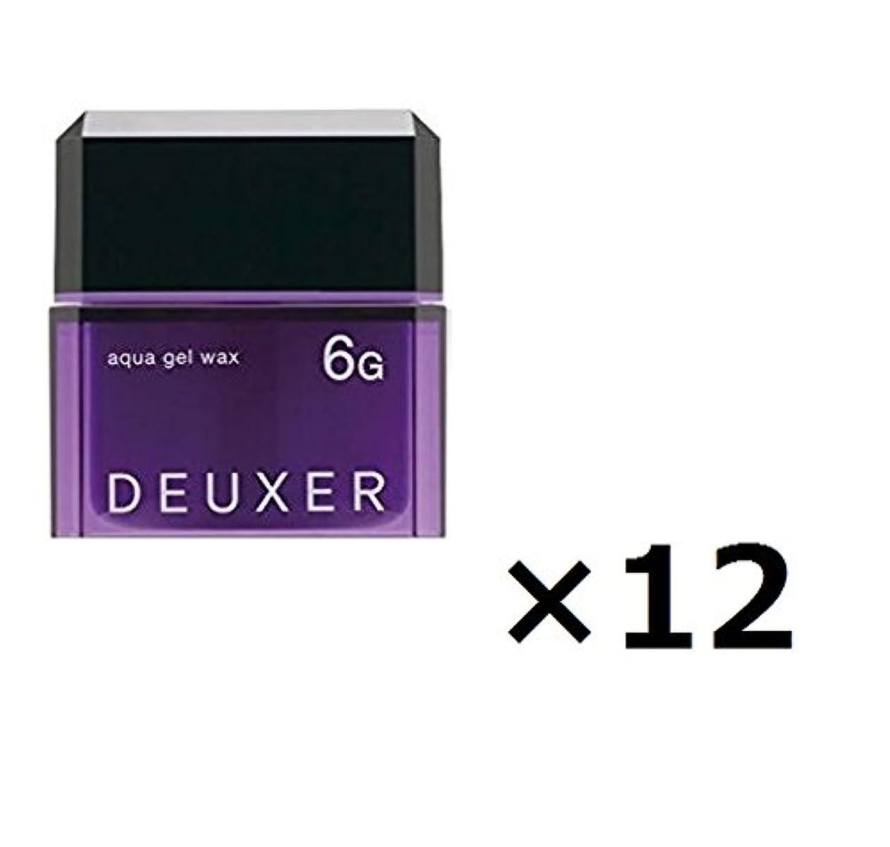 手書きこするしばしば【12個セット】ナンバースリー デューサー アクアジェルワックス 6G 80g