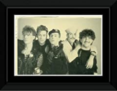 Frankie Goes To Hollywood - Band Framed and Mounted Print - 10.2x14.7cm