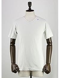SWEEP!! スウィープ!! メンズ コットン 半袖 VネックTシャツ V-neck Ice (グレー)