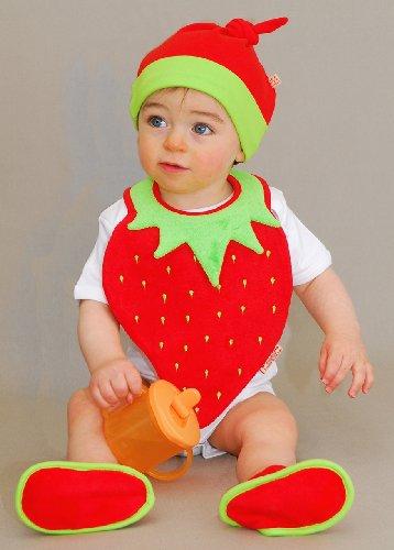 かわいすぎて大人が悶絶。赤ちゃんをいちごの妖精さんにしちゃえるぞ!