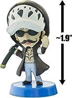 "Trafalgar Law: ~1.9"" Anichara Heroes x One Piece - Dressrosa Arc Mini-Figure Series (Japanese Import)"