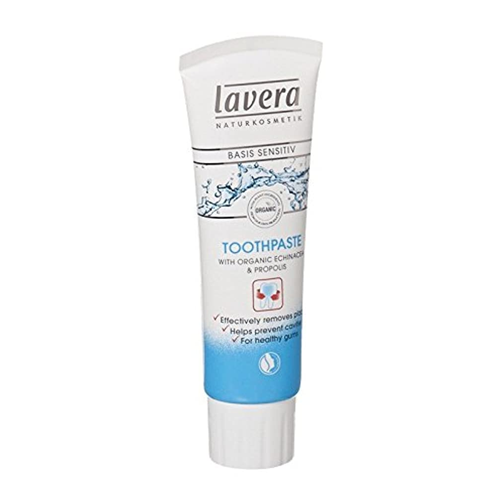 ソビエト開拓者六Lavera Basis Sensitiv Toothpaste Echinacea & Propolis (Pack of 6) - Laveraの基礎Sensitiv歯磨き粉エキナセア&プロポリス (x6) [並行輸入品]