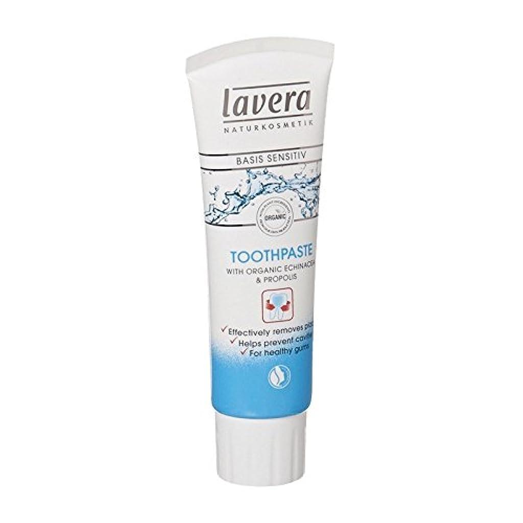 スペイン語圧力コアLavera Basis Sensitiv Toothpaste Echinacea & Propolis (Pack of 6) - Laveraの基礎Sensitiv歯磨き粉エキナセア&プロポリス (x6) [並行輸入品]