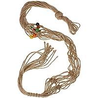 ノーブランド品  麻ロープ ナイロン ロープ 植物ホルダー ハンガー スタンド 吊りスタンド 100CM 6色選べる - #3