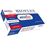 Bioflex Powder Free Long Cuff (280mm Cuff Length) Latex Examination Glovess 50/Box (M)