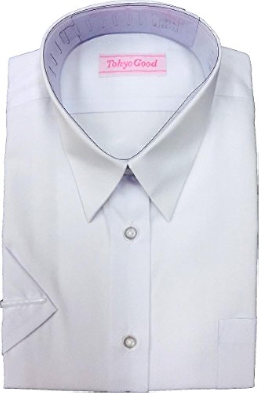 スクール シャツ ブラウス 女子 Yシャツ A体 B体 長袖 半袖 |形態安定|抗菌防臭加工 衿?袖汚れ専用洗剤プレゼント[M便 1/1]