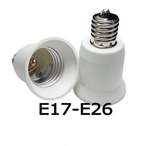 Keepjoy E17口金変換 アダプタ E17 → E26...