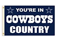 Caseys Distributing 2324594103 Dallas Cowboys 3 ft.x5 ft. Country Design Flag