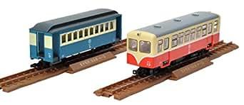 トミーテック ジオコレ 鉄道コレクションナロー80 ナローゲージ80 猫屋線 キハ11 白帯塗装 ホハ1形 新塗装 ジオラマ用品