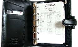 ファイロファックス FILOFAX ピアッツァ Piazza ポケット Pocket ブラック