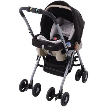 コンビ Combi ベビーカー EX Combi マルチ5ウェイPW アルティメットブラック (新生児~24ヶ月頃対象) 1台5役のマルチベビーカー