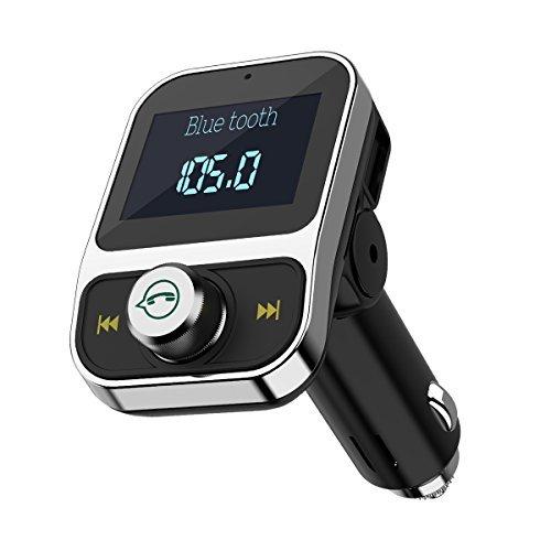 keekit Bluetooth FM送信機、ワイヤレス車載...