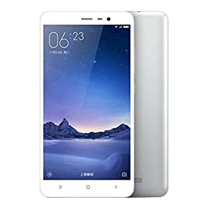 XIAOMI Redmi Note 3 Pro 5.5 inch 4G Phablet Android 5.1 Quadcomm Snapdragon 650 64bit Hexa Core 1.8GHz Fingerprint ID 3GB RAM 32GB ROM 16.0MP + 5.0MP Camera シルバー [並行輸入品]
