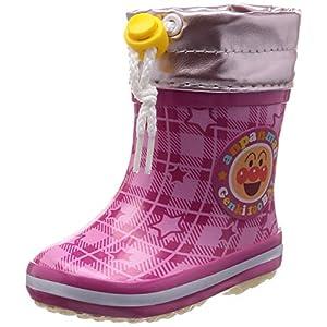 [アンパンマン] レインブーツ ベビー 靴 雨 雪 防寒 BB APM19U ピンク 14 cm 2E