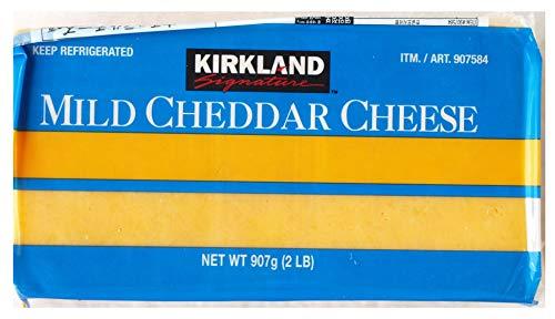 #907584:KS マイルドチェダーチーズ 907g 要冷蔵