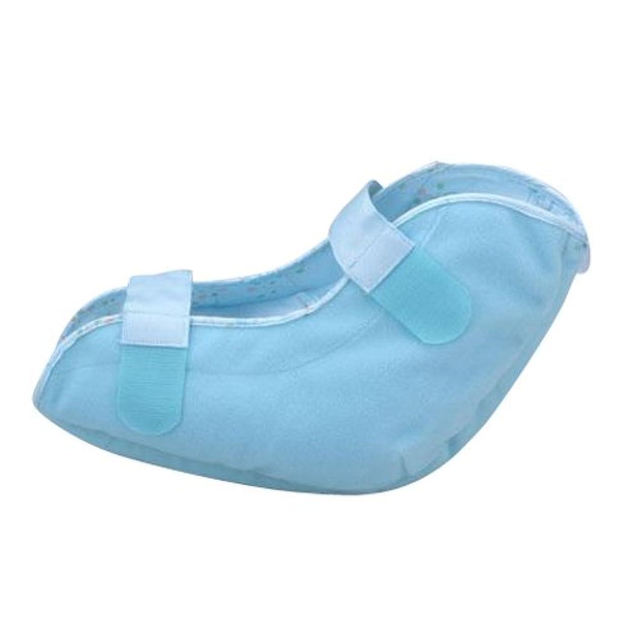 弓人工的な良性洗える通気タイプ かかと用パッド(1個入り) 1663 ブルー