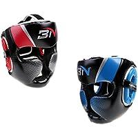 Perfk 2個入りセット 取り外し可能 ヘッドギア ボクシング ヘルメット 格闘技 頭部保護 プロテクター