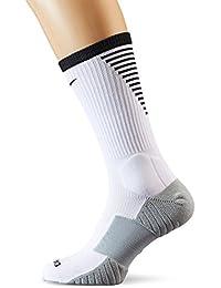 ナイキ(NIKE) SQUAD フットボール クルー ソックス SX5345 100 ホワイト/ブラック 25-27cm