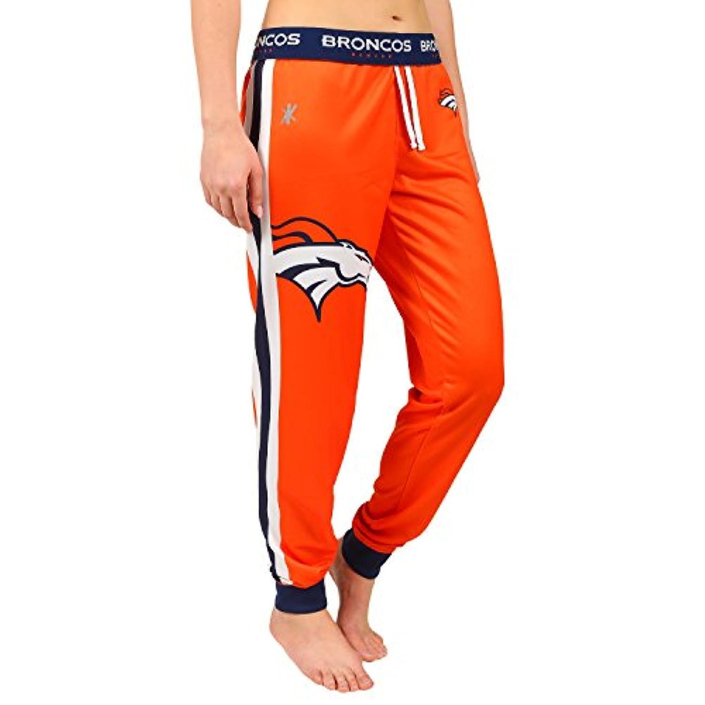 NFLデンバー?ブロンコスWomen 's Joggerパンツ、大きい、オレンジ