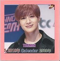 !テミンTAEMIN/SHINEEシャイニー2019-20年フォト卓上カレンダー韓国