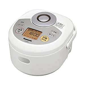パナソニック 3合 炊飯器 IH式 ホワイト SR-KG051-W