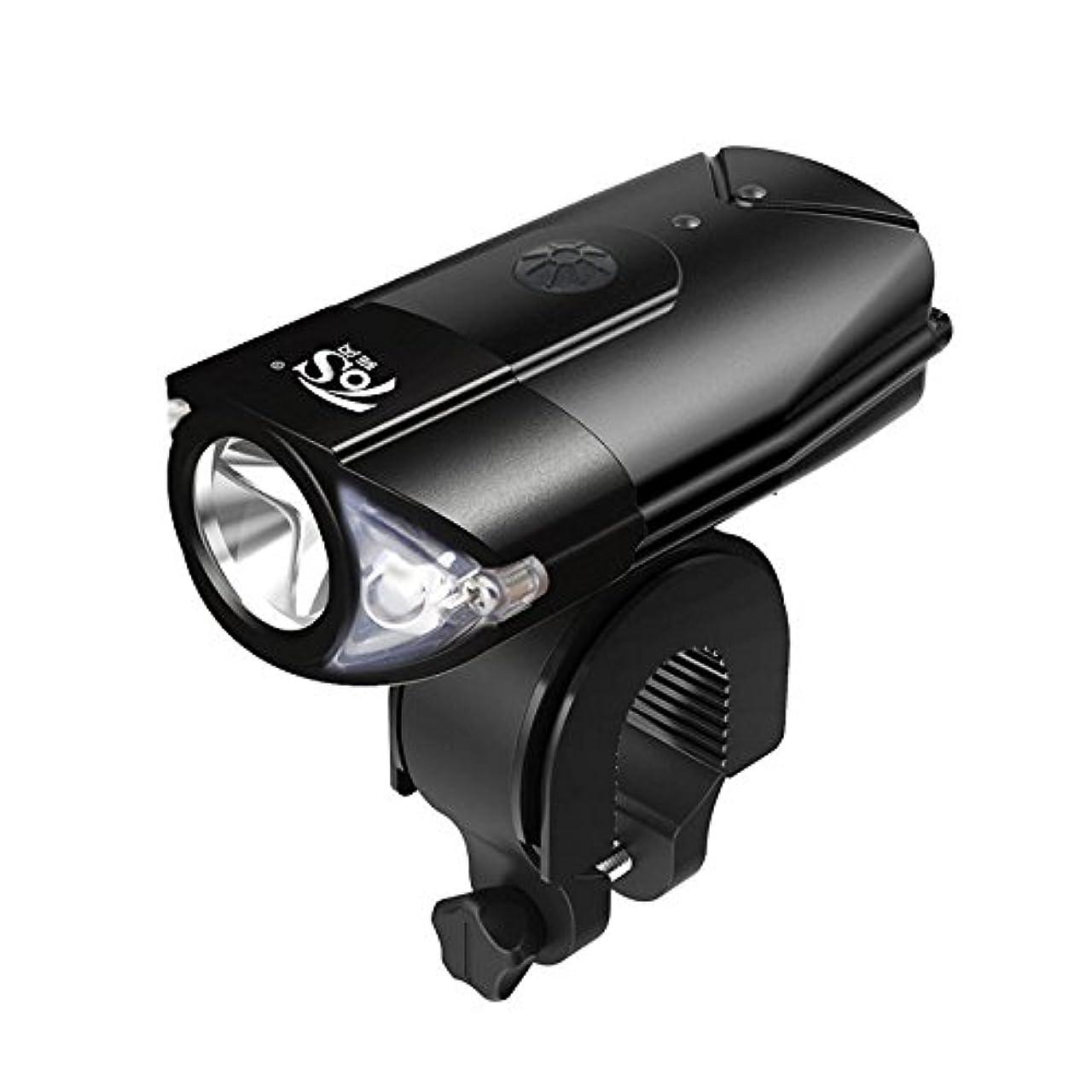 カルシウム祈るテメリティbesuntek 自転車ライト 自転車前照灯 多用途 防水IP65 USB充電