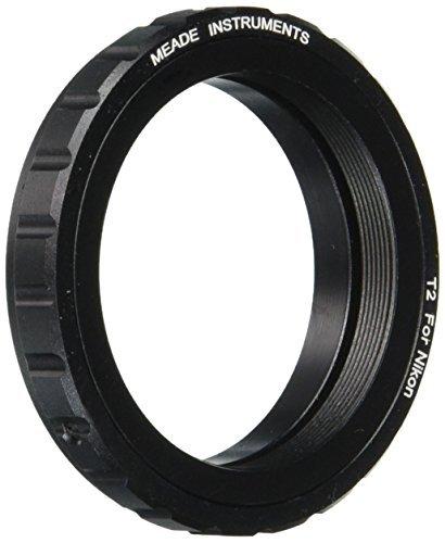 Meade Instruments 07378 T-Mount SLR Camera Adapter (Black) [並行輸入品]